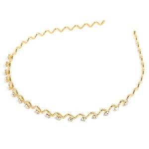Accessories - NWT - Crystal Embellished Rhinestone Gold Headband
